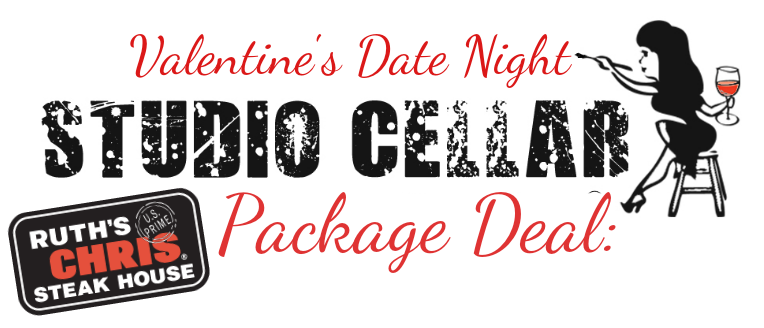 VDAY PACKAGE DEAL with RUTH'S CHRIS 6:30 CLASS