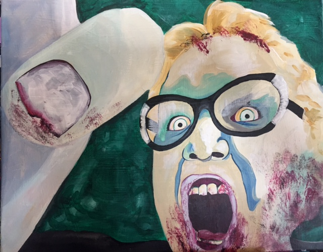 Submit your Pic for Zombie Self-Portrait!