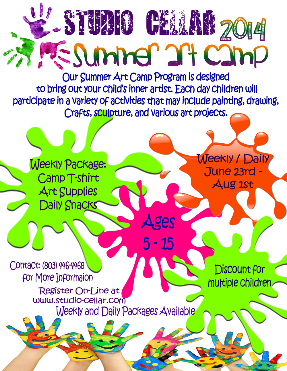 Weekly - Summer Art Camp